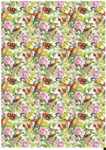 Карта декупажная Hobby&You Птички в саду (фон), 21 х 30 смHY501276Декупажная карта Hobby&You прекрасно подходит для декорирования предметов из керамики, пластика, дерева, стекла, фанеры, металла, текстиля и других материалов.Она выполнена из гладкой бумаги.Размер 21 х 30 см.