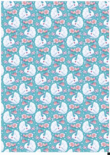 Декупажная карта Hobby&You Белый голубь, 21 х 30 см