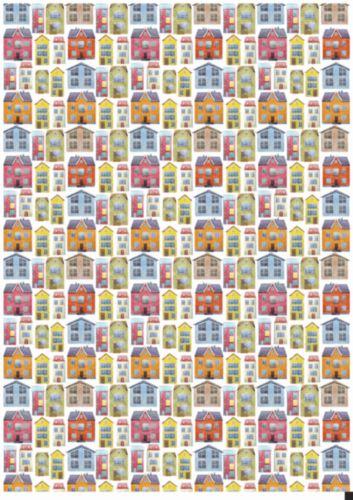 Декупажная карта Hobby&You Домики (фон), 21 х 30 смHY501282