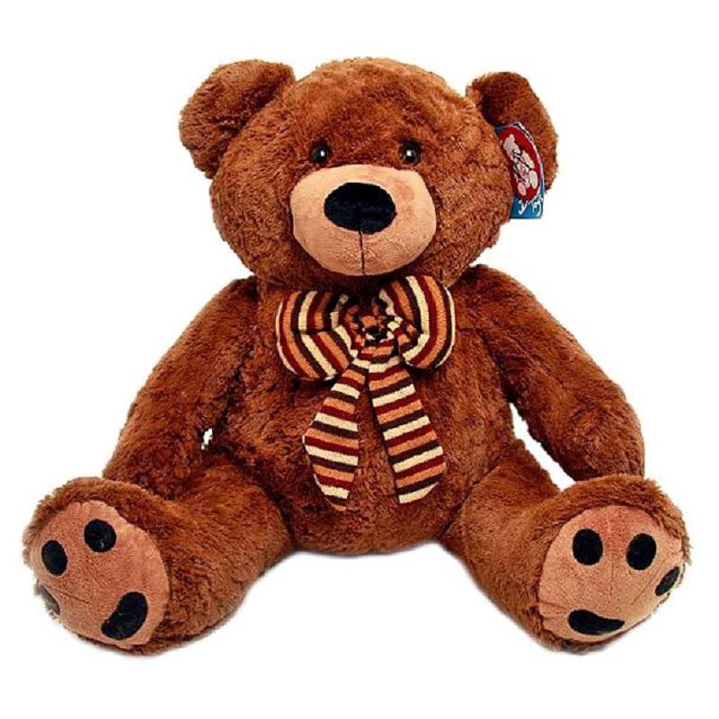 Magic Bear Toys Мягкая игрушка Медведь с бантом 50 см лонгслив printio bear beer медведь и мед