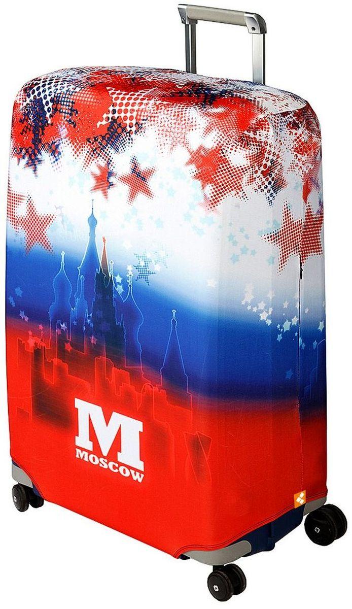 "Чехол для чемодана Routemark ""Moscow"", размер L/XL (75-85 см)"
