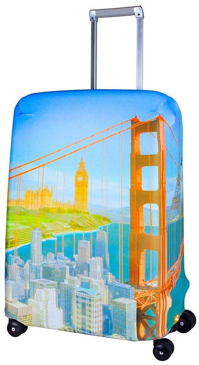 Чехол для чемодана Routemark Citizen, размер M/L (65-74 см)Cit-M/LЧехол Routemark подходит для чемоданов средних размеров высотой от 65 до 74 см (24-28 inch) (мерить от пола). Изготовлен изспандекса (240 г/2м) и имеет упрочнённые швы. Чехлы Routemark отличаются плотным материалом и наличием 2 специальных потайных молний для боковых ручек с двух сторон. Внизу чехла -молния трактор, дополнительная резинка с фастексом для лучшей усадки.В комплекте предусмотрен отдельный аксессуар - мешочек, который можноиспользовать для разных других полезных мелочей (например, для хранения салфеток, денег, солнцезащитных очков, телефона, карты от номераи т.д.).У чехла стойкая сублимационная печать. Чехол можно стирать в стиральной машине.
