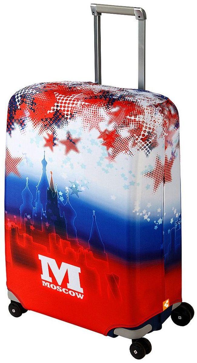 "Чехол для чемодана Routemark ""Moscow"", размер M/L (65-74 см)"