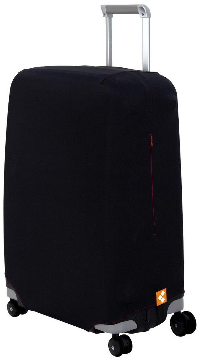 "Чехол для чемодана Routemark ""Black"". Размер M/L (высота чемодана 65-74 см)"