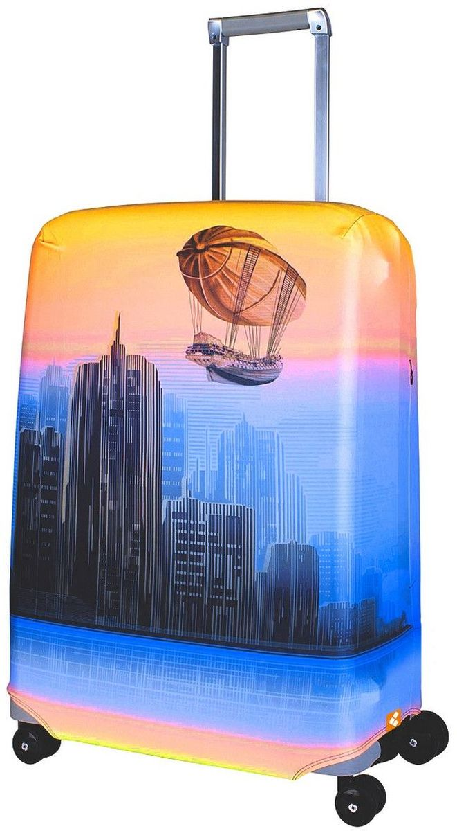 Чехол для чемодана Routemark Zeppeline, размер M/L (65-74 см)Zep-M/LДля чемоданов средних размеров, высотой от 65 до 74 см (24-28 inch) (мерить от пола). Плотность ткани - 240 г/кв.м, упрочнённые швы, 2 потайные молнии для боковых ручек с двух сторон. Внизу чехла - молния трактор, дополнительная резинка с фастексом для лучшей усадки. Стойкая сублимационная печать.