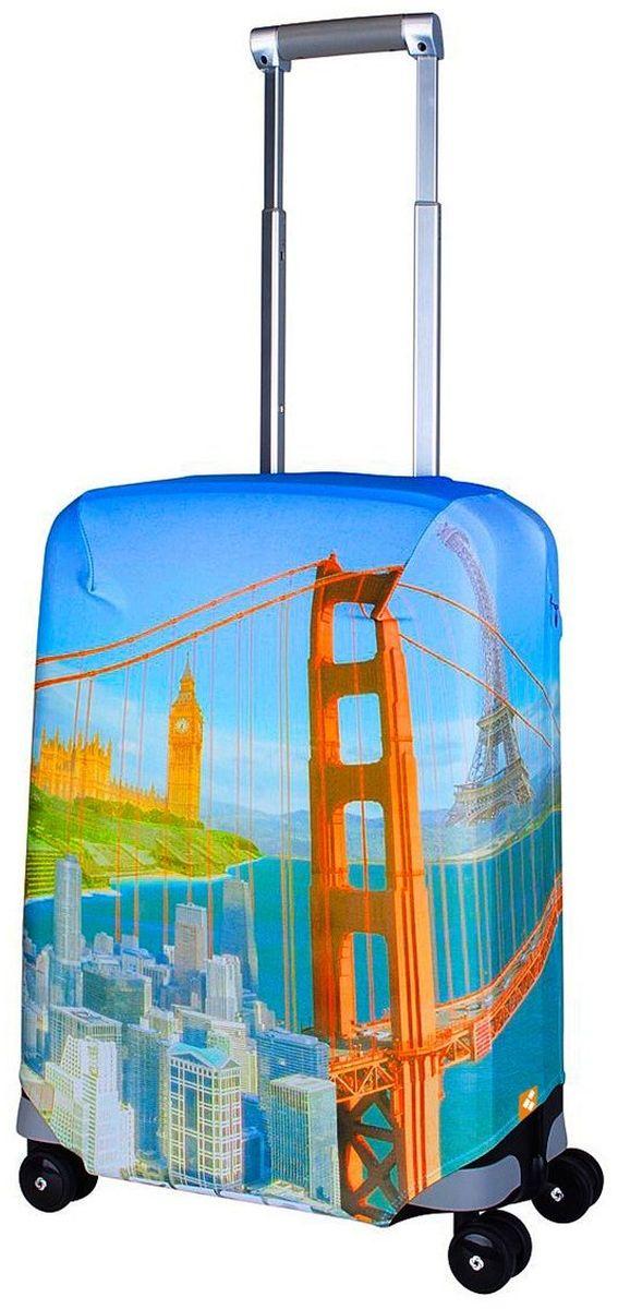 Чехол для чемодана Routemark Citizen, размер S (50-55 см)Cit-SЧехол Routemark подходит для чемоданов маленьких размеров высотой от 50 до 55 см (19-21 дюйма) (мерить от пола). Изготовлен изспандекса (240 г/2м) и имеет упрочнённые швы. Чехлы Routemark отличаются плотным материалом и наличием 2 специальных потайных молний для боковых ручек с двух сторон. Внизу чехла -молния трактор, дополнительная резинка с фастексом для лучшей усадки.В комплекте предусмотрен отдельный аксессуар - мешочек, который можноиспользовать для разных других полезных мелочей (например, для хранения салфеток, денег, солнцезащитных очков, телефона, карты от номераи т.д.).У чехла стойкая сублимационная печать. Чехол можно стирать в стиральной машине.
