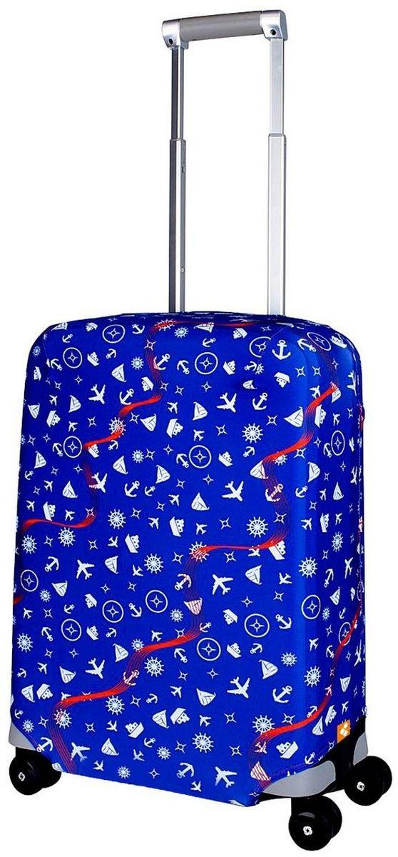 Чехол для чемодана Routemark Traveler, размер S (50-55 см)Trav-SЧехол Routemark подходит для чемоданов маленьких размеров высотой от 50 до 55 см (19-21 дюйма) (мерить от пола). Изготовлен изспандекса (240 г/2м) и имеет упрочнённые швы. Чехлы Routemark отличаются плотным материалом и наличием 2 специальных потайных молний для боковых ручек с двух сторон. Внизу чехла -молния трактор, дополнительная резинка с фастексом для лучшей усадки.В комплекте предусмотрен отдельный аксессуар - мешочек, который можноиспользовать для разных других полезных мелочей (например, для хранения салфеток, денег, солнцезащитных очков, телефона, карты от номераи т.д.).У чехла стойкая сублимационная печать. Чехол можно стирать в стиральной машине.