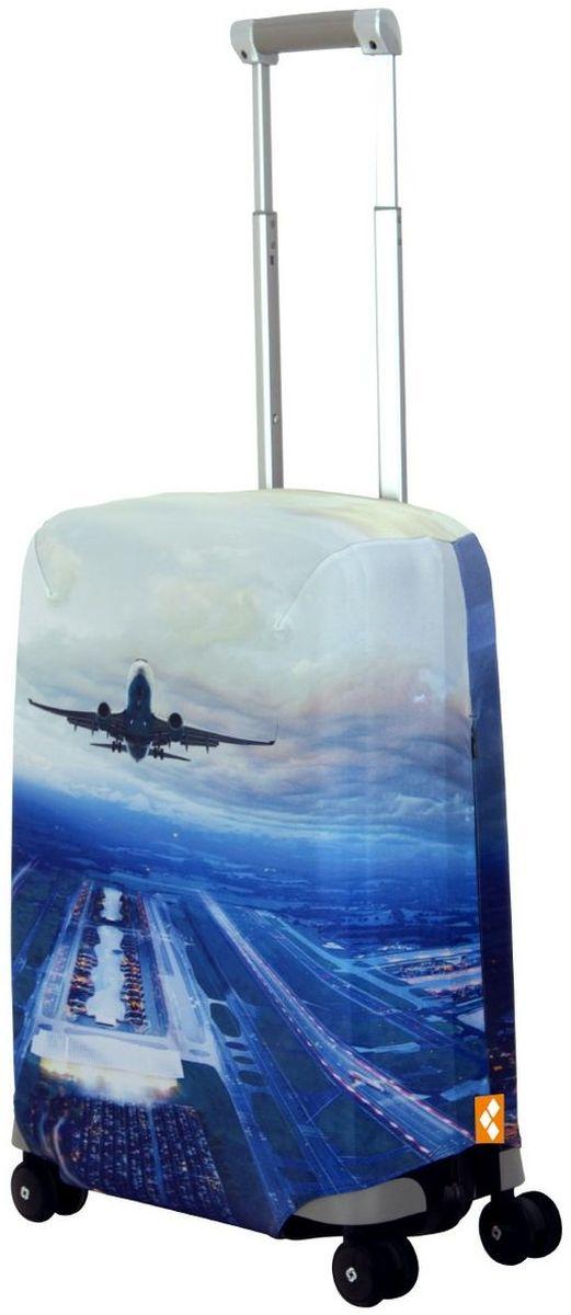 Чехол для чемодана Routemark Plane, размер S (50-55 см)Pl-II-SЧехол Routemark подходит для чемоданов маленьких размеров высотой от 50 до 55 см (19-21 дюйма) (мерить от пола). Изготовлен изспандекса (240 г/2м) и имеет упрочнённые швы. Чехлы Routemark отличаются плотным материалом и наличием 2 специальных потайных молний для боковых ручек с двух сторон. Внизу чехла -молния трактор, дополнительная резинка с фастексом для лучшей усадки.В комплекте предусмотрен отдельный аксессуар - мешочек, который можноиспользовать для разных других полезных мелочей (например, для хранения салфеток, денег, солнцезащитных очков, телефона, карты от номераи т.д.).У чехла стойкая сублимационная печать. Чехол можно стирать в стиральной машине.