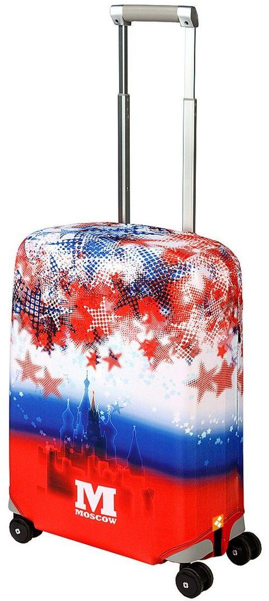 """Чехол для чемодана Routemark """"Moscow"""", размер S (50-55 см)"""