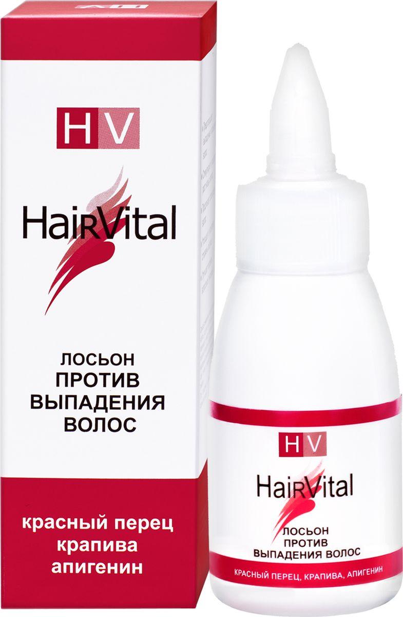 Hair Vital Лосьон против выпадения волос, 50 мл72242• Предотвращает выпадение и повреждение волос• Стимулирует и ускоряет рост новых волос• Продлевает срок жизни волос• Утолщает и укрепляет стержень волоса• Улучшает питание волосяных луковицАктивные компоненты: экстракты крапивы и красного перца, олеаноловая кислота, апигенин, лизолецитин, биотиноил трипептид-1
