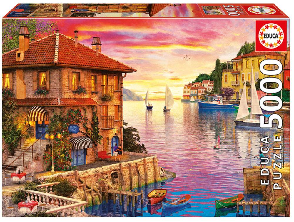 Educa Пазл Средиземноморская гавань