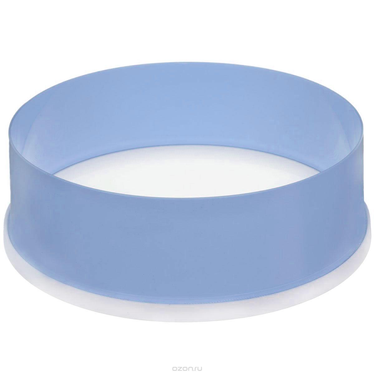 Сито Альтернатива, цвет: голубой, белый, диаметр 22 смM071Сито Альтернатива выполнено из высококачественного пластика. Сито предназначено для просеивания муки, процеживания и промывания продуктов. Прочная сетка и корпус обеспечивают изделию износостойкость и долговечность.Такое сито станет достойным дополнением к кухонному инвентарю.Диаметр: 22 см.Высота стенок: 7,5 см.
