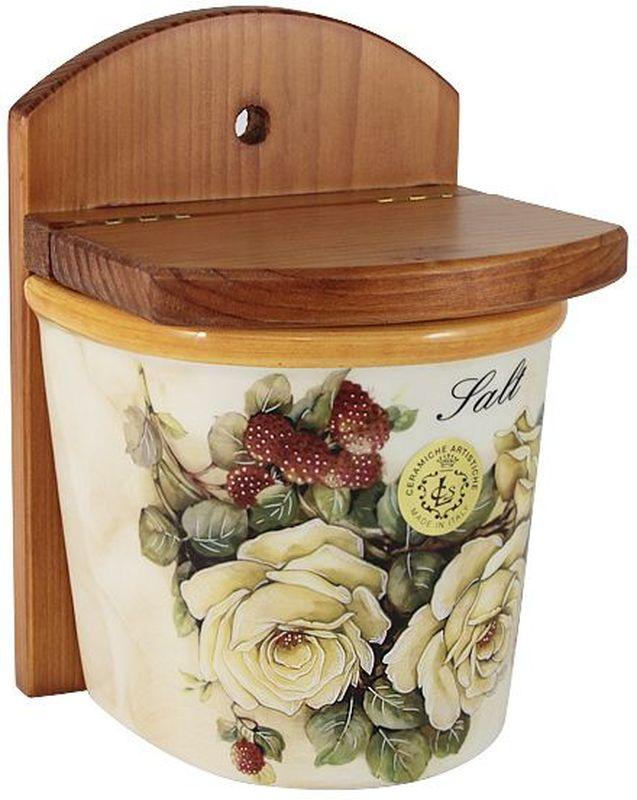 Банка для сыпучих продуктов LCS Роза и малина. Соль, 0,75 л54173Банка для сыпучих продуктов(соль) 0,75л Роза и малинаLCS - молодая, динамично развивающаяся итальянская компания из Флоренции, производящая разнообразную керамическую посуду и изделия для украшения интерьера. В своих дизайнах LCS использует как классические, так и современные тенденции. Высокий стандарт изделий обеспечивается за счет соединения высоко технологичного производства и использования ручной работы профессиональных дизайнеров и художников, работающих на фабрике.