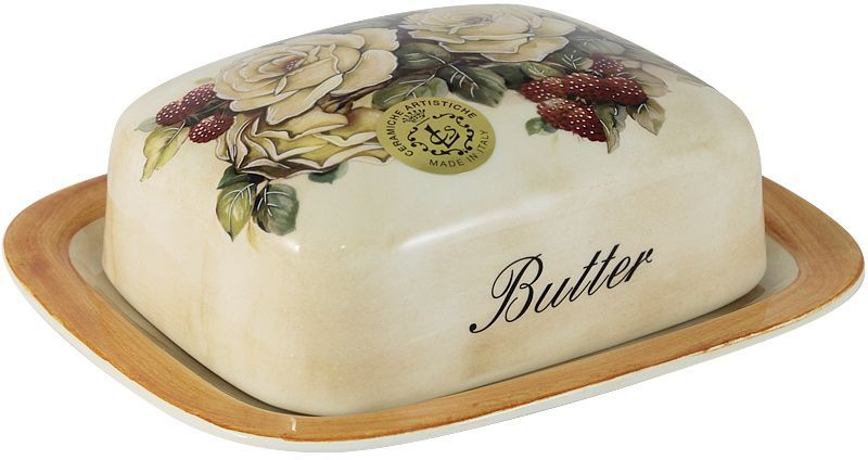 Масленка LCS Роза и малина, 17 х 14,5 см54176Великолепная масленка LCS Роза и малина, выполненная из высококачественной керамики,предназначена для красивой сервировки и хранения масла. Она состоит из подноса и крышки.Масло в ней долго остается свежим, а при хранении в холодильнике не впитывает посторонниезапахи.Масленка LCS идеально подойдет для сервировки стола и станет отличным подарком к любомупразднику.