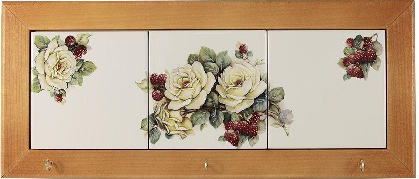 Вешалка для полотенец LCS Роза и малина, 35 х 15 см54189Вешалка для полотенец 35х15см Роза и малинаLCS - молодая, динамично развивающаяся итальянская компания из Флоренции, производящая разнообразную керамическую посуду и изделия для украшения интерьера. В своих дизайнах LCS использует как классические, так и современные тенденции. Высокий стандарт изделий обеспечивается за счет соединения высоко технологичного производства и использования ручной работы профессиональных дизайнеров и художников, работающих на фабрике.