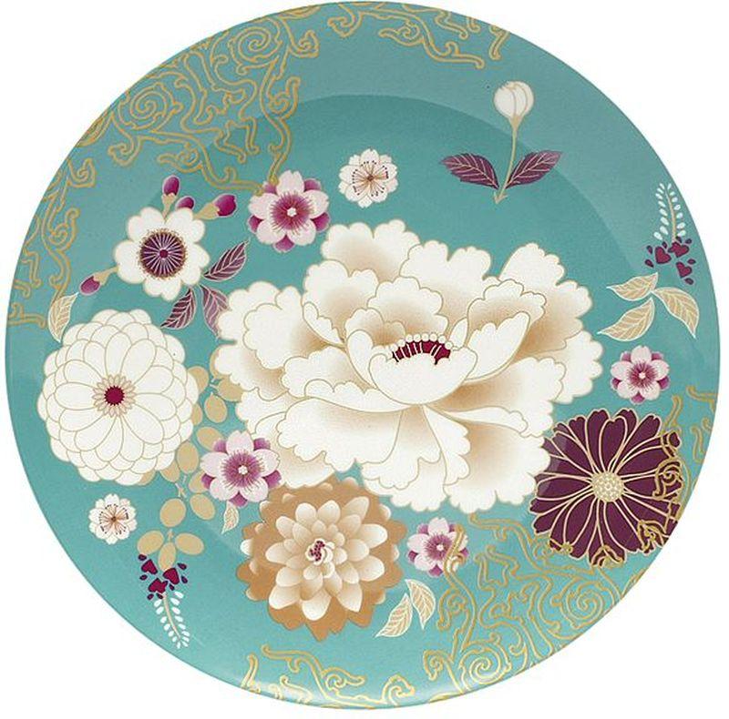 """Тарелка Maxwell & Williams """"Кимоно"""" выполнена из высококачественного фарфора и имеет классическую круглую форму. Она прекрасно впишется в интерьер вашей кухни и станет достойным дополнением к кухонному инвентарю. Она подчеркнет прекрасный вкус хозяйки и станет отличным подарком."""