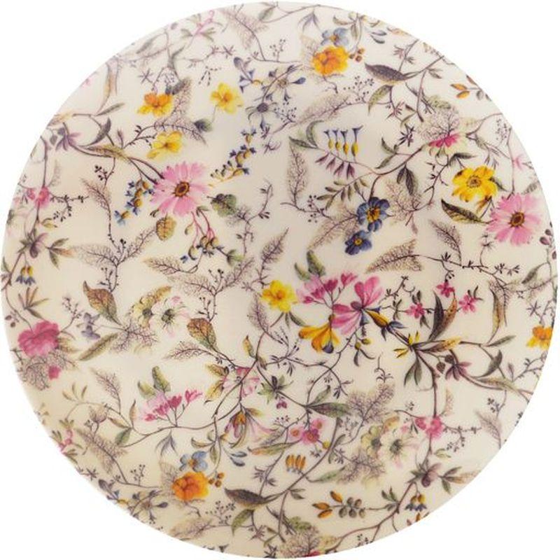 Тарелка Maxwell & Williams Летние цветы, диаметр 20 см53996Тарелка Maxwell & Williams Летние цветы выполнена из высококачественного фарфора и имеет классическую круглую форму. Она прекрасно впишется в интерьер вашей кухни и станет достойным дополнением к кухонному инвентарю. Она подчеркнет прекрасный вкус хозяйки и станет отличным подарком.