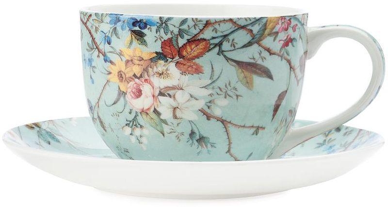 Чашка с блюдцем Maxwell & Williams Луг, 250 мл чашка с блюдцем terracotta дерево жизни 200 мл