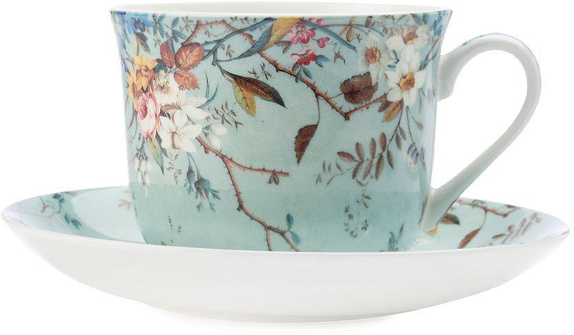 Чашка с блюдцем Maxwell & Williams Луг, 480 мл чашка с блюдцем terracotta дерево жизни 200 мл