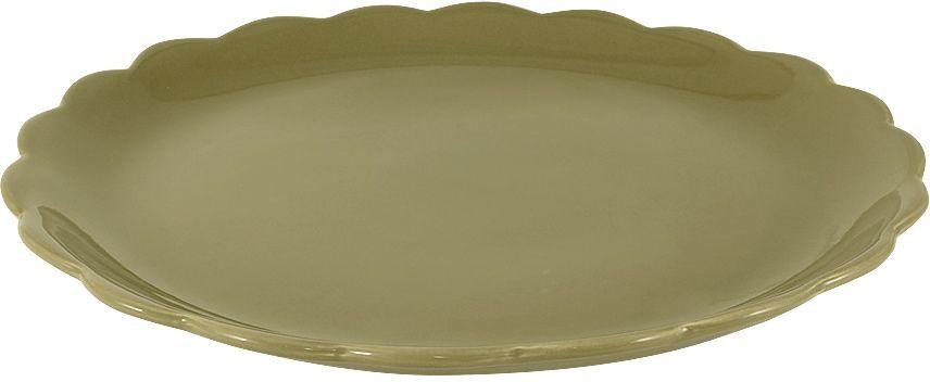 """Тарелка """"Тыква"""" изготовлена из керамика. Подстановочная тарелка - это особый вид тарелок. Обычно она выполняет исключительно декоративную функцию. Такая тарелка изысканно украсит сервировку как обеденного, так и праздничного стола."""