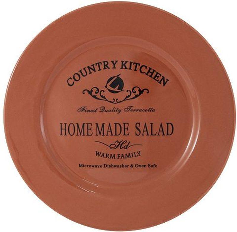 Тарелка закусочная Terracotta Умбра, 21 см54103Тарелка закусочная 21 см УмбраТорговая марка Terracotta - это коллекции разнообразной посуды для сервировки стола, хранения продуктов и приготовления пищи из жаропрочной керамики, покрытой высококачественной глазурью. Достоинства керамической посуды, известные во всем мире: отсутствие выделений химических примесей, равномерный нагрев и долгое сохранение температуры позволяют придавать особый аромат пище, сохранять витамины и другие ценные питательные вещества. Изделия Terracotta идеально подходят для выпечки, приготовления различных блюд и разогревания пищи в духовом шкафу или микроволновой печи. Могут использоваться для хранения продуктов, в том числе в холодильнике. Мыть керамическую посуду рекомендуется теплой водой с небольшим количеством моющих средств. Лучше не использовать абразивные пасты и металлические мочалки. Допускается мытье в посудомоечной машине при соблюдении инструкции изготовителя посудомоечной машины. Посуда требует осторожности: защиты от сильного удара или падения. В наборах и отдельных предметах используются и другие виды материалов, вышеуказанные рекомендации применимы только к керамическим изделиям. Посуда торговой марки Terracotta совмещает в себе современные технологии и новые идеи, благодаря чему достигаются высокое качество, разнообразие форм и дизайнов. Упаковка для каждой серии выполнена в фирменном стиле, что делает эту продукцию не только полезным, но и красивым подарком.