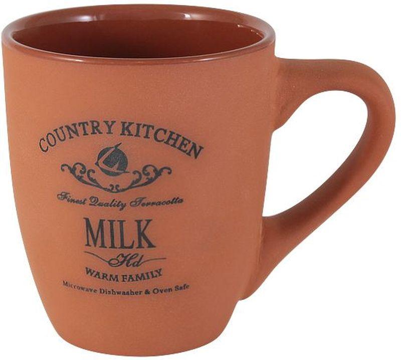 """Кружка 0,3 л """"Умбра""""Торговая марка Terracotta - это коллекции разнообразной посуды для сервировки стола, хранения продуктов и приготовления пищи из жаропрочной керамики, покрытой высококачественной глазурью.  Достоинства керамической посуды, известные во всем мире: отсутствие выделений химических примесей, равномерный нагрев и долгое сохранение температуры позволяют придавать особый аромат пище, сохранять витамины и другие ценные питательные вещества.  Изделия Terracotta идеально подходят для выпечки, приготовления различных блюд и разогревания пищи в духовом шкафу или микроволновой печи. Могут использоваться для хранения продуктов, в том числе в холодильнике.  Мыть керамическую посуду рекомендуется теплой водой с небольшим количеством моющих средств. Лучше не использовать абразивные пасты и металлические мочалки. Допускается мытье в посудомоечной машине при соблюдении инструкции изготовителя посудомоечной машины. Посуда требует осторожности: защиты от сильного удара или падения. В наборах и отдельных предметах используются и другие виды материалов, вышеуказанные рекомендации применимы только к керамическим изделиям.  Посуда торговой марки Terracotta совмещает в себе современные технологии и новые идеи, благодаря чему достигаются высокое качество, разнообразие форм и дизайнов. Упаковка для каждой серии выполнена в фирменном стиле, что делает эту продукцию не только полезным, но и красивым подарком."""