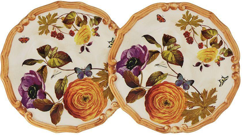 Набор десертных тарелок LCS Элеганс, диаметр 20,5 см, 2 шт54131Набор десертных тарелок LCS Элеганс изготовлен из керамики. LCS - молодая, динамично развивающаяся итальянская компания из Флоренции, производящая разнообразную керамическую посуду и изделия для украшения интерьера.В своих дизайнах LCS использует как классические, так и современные тенденции. Высокий стандарт изделий обеспечивается за счет соединения высоко технологичного производства и использования ручной работы профессиональных дизайнеров и художников, работающих на фабрике.