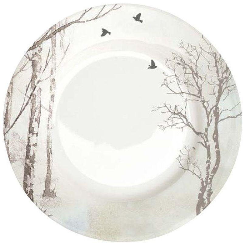 Тарелка обеденная Nuova R2S Природа, диаметр 26,5 см53938Обеденная тарелка Nuova R2S Природа,изготовленная из высококачественного фарфора, декорирована оригинальным рисунком. Яркий дизайнпридется по вкусу и ценителям классики, и тем, ктопредпочитает утонченность и изысканность.Тарелка Nuova R2S Природа идеально подойдетдля сервировки стола и станет отличным подарком клюбому празднику.Можно мыть в посудомоечной машине и использовать вмикроволновой печи. Диаметр тарелки: 26,5 см.