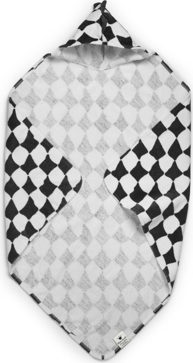 Elodie Details Полотенце детское с капюшоном Graphic Grace New детское полотенце с уголком капюшоном