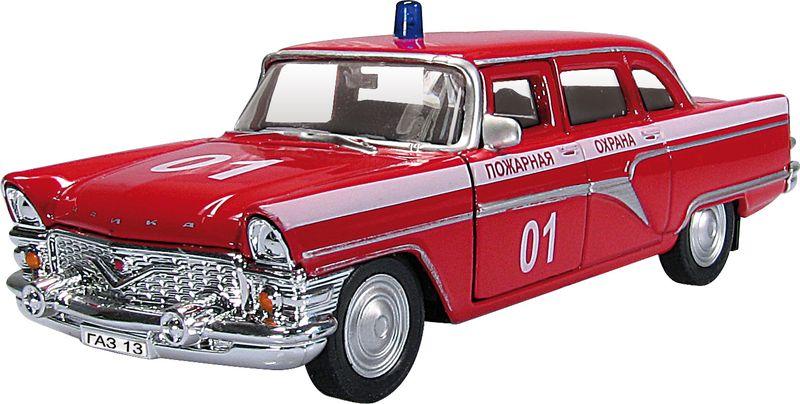 Autotime Модель автомобиля ГАЗ-13 Чайка Пожарная охрана autotime модель автомобиля уаз 31514 гражданская