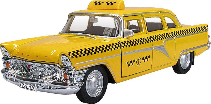 Autotime Модель автомобиля ГАЗ-13 Чайка Такси ассенизаторскую машину газ 66 в краснодаре