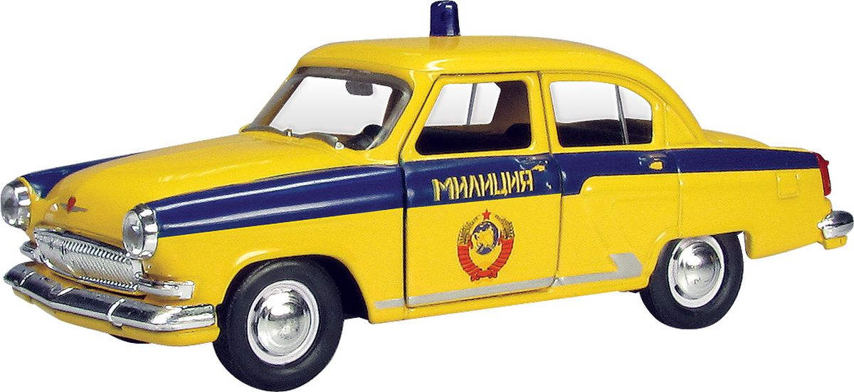 Autotime Модель автомобиля ГАЗ-21 Волга ГАИ СССР autotime collection 11446 уаз 31514 вдв