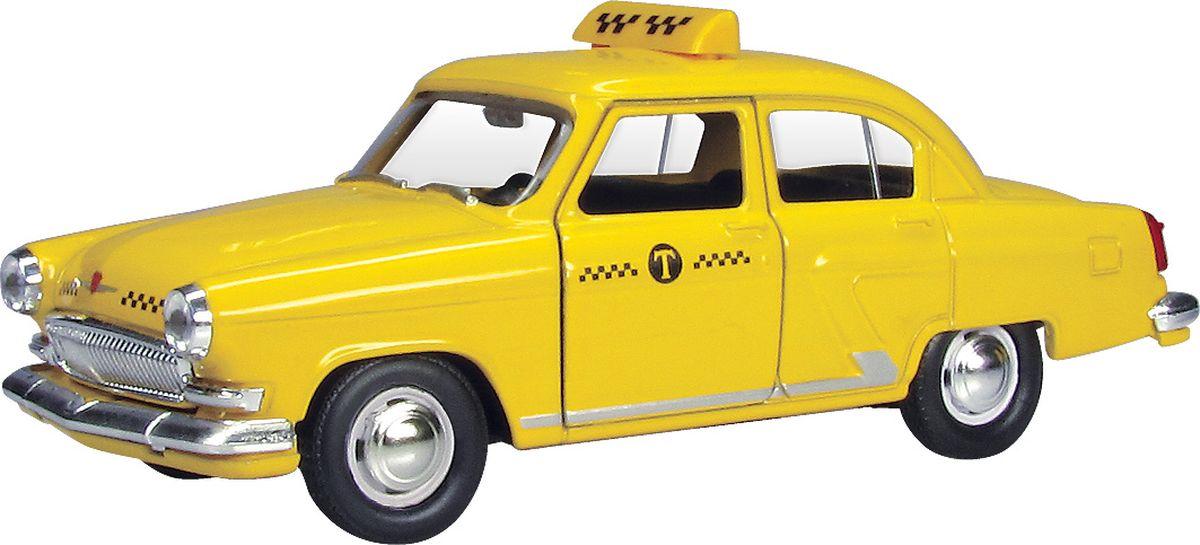 Autotime Модель автомобиля ГАЗ-21 Волга Желтое такси autotime collection 11446 уаз 31514 вдв