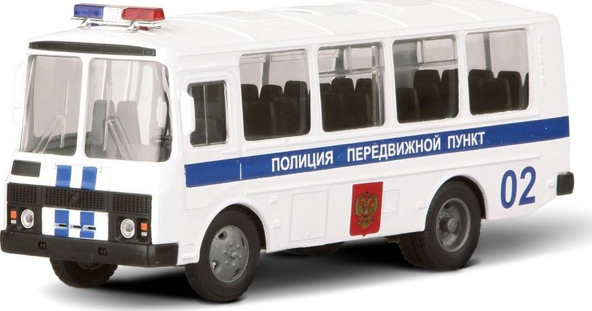 Autotime Модель автобуса Полиция машинки autotime машина uaz 31514 ваи