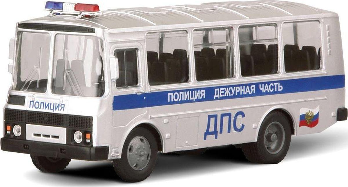 Autotime Модель автомобиля ПАЗ-32053 Дежурная часть ДПС autotime модель автомобиля uaz 39625 мчс россии