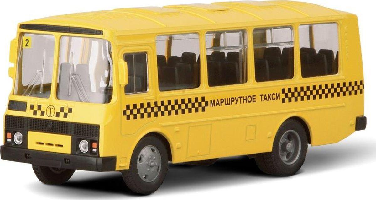 Autotime Модель автомобиля Паз-32053 Маршрутное такси машинки autotime машина lada 111 пожарная охрана