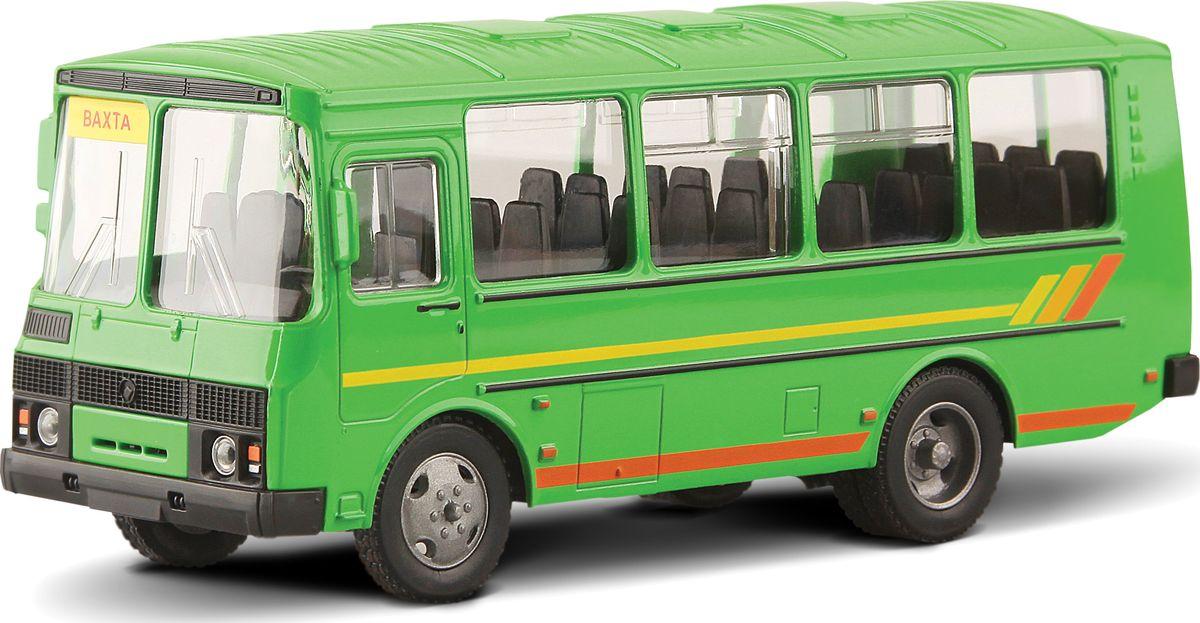 Autotime Модель автомобиля ПАЗ-32053 Вахтовый машинки autotime машина uaz 31514 ваи
