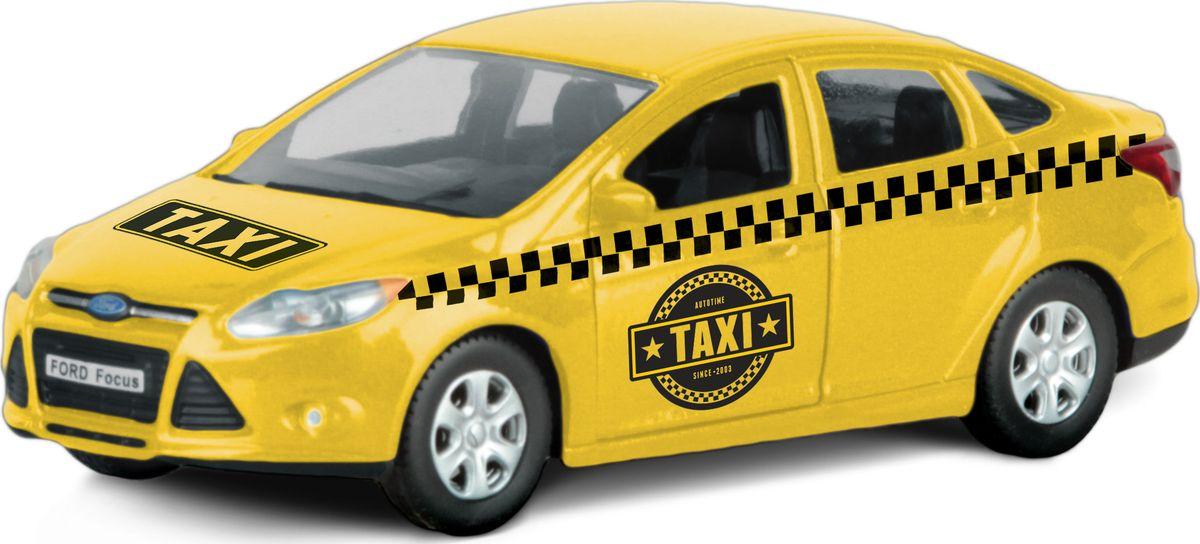 Autotime Модель автомобиля Ford Focus Такси машинки autotime машина uaz 31514 ваи