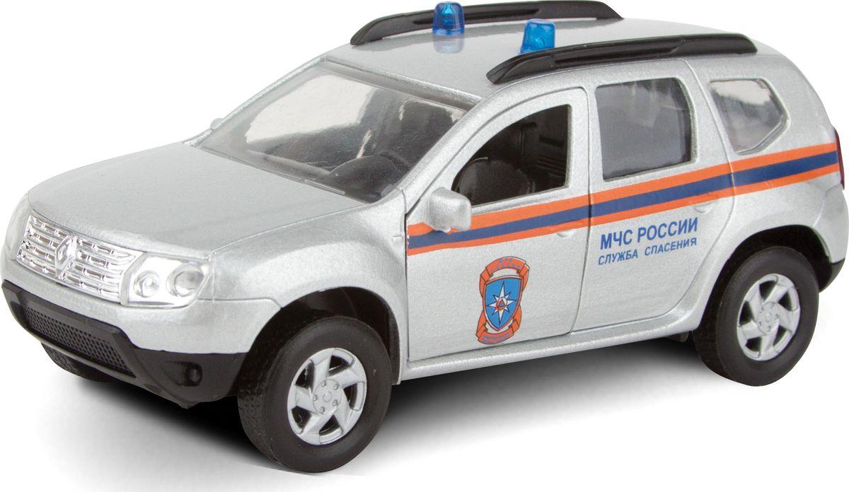 Autotime Модель автомобиля Renault Duster МЧС autotime модель автомобиля uaz 39625 дорожные работы