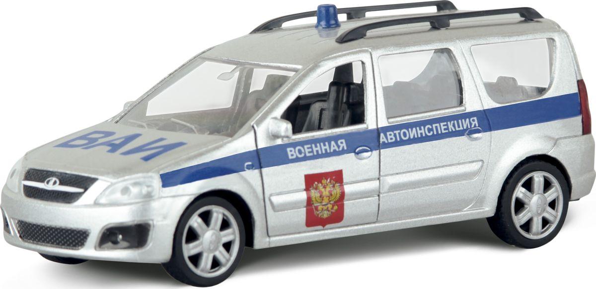 Autotime Модель автомобиля Lada Largus Военная автоинспекция машинки autotime машина lada 111 пожарная охрана