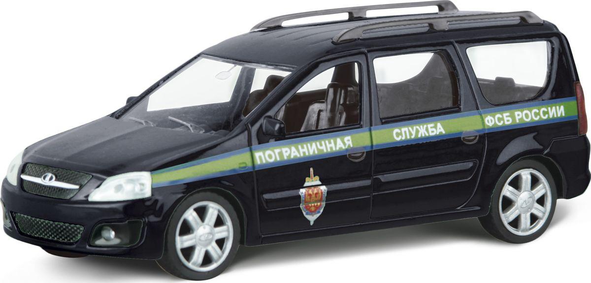 Autotime Модель автомобиля Lada Largus Пограничная Служба ФСБ России машинки autotime машина uaz 31514 ваи
