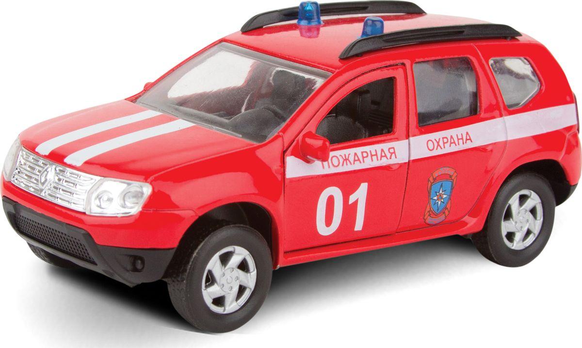 Autotime Модель автомобиля Renault Duster Пожарная охрана машинки autotime машина bavaria gran turismo пожарная охрана