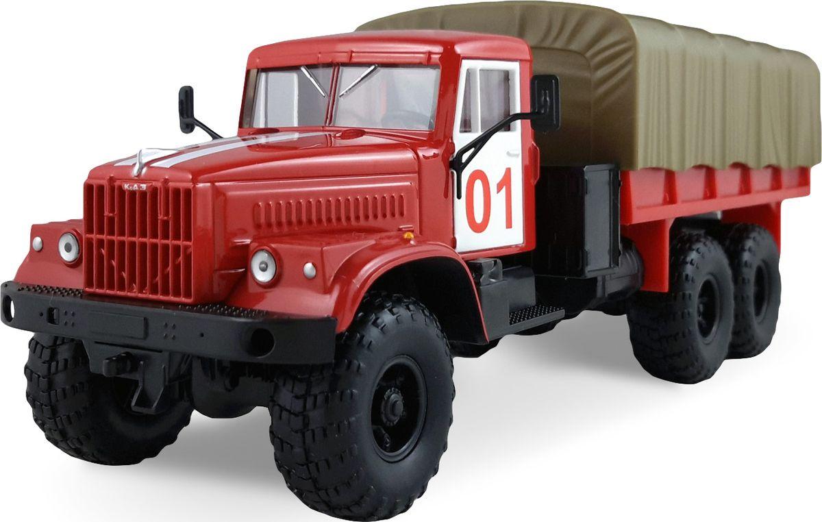 Autotime Модель грузовика КрАз-255B Пожарная охрана машинки autotime машина bavaria gran turismo пожарная охрана