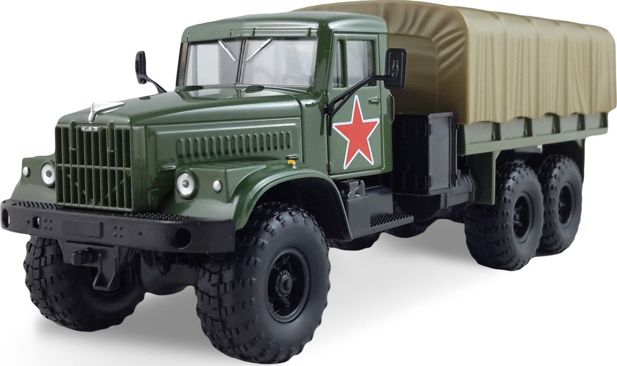 Autotime Модель автомобиля КрАЗ-255В Армейская машина autotime imperial truck series 65137