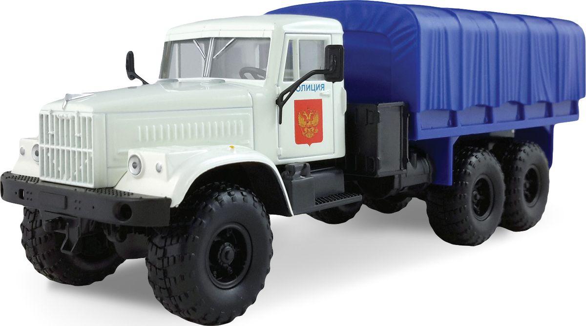 Autotime Модель автомобиля КРАЗ-225В Полиция машинки autotime машина scania command unit полиция 1 48