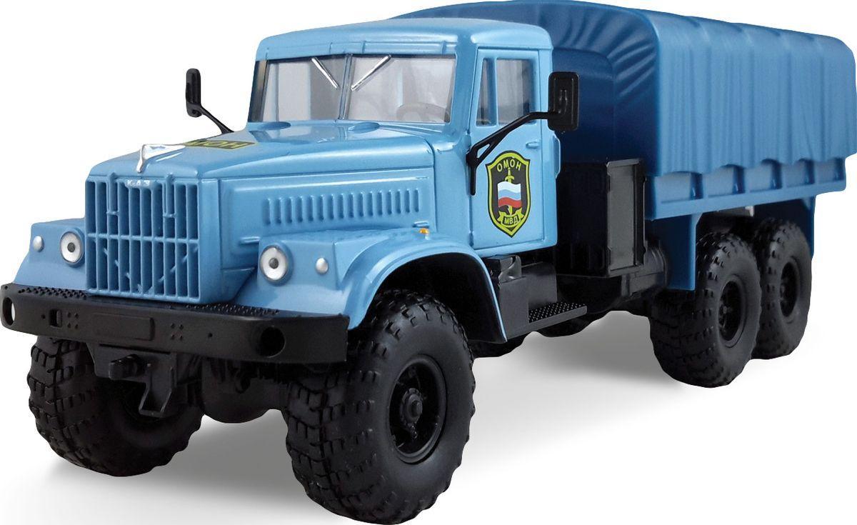 Autotime Модель автомобиля КрАЗ-255B ОМОН autotime модель автомобиля uaz 39625 омон