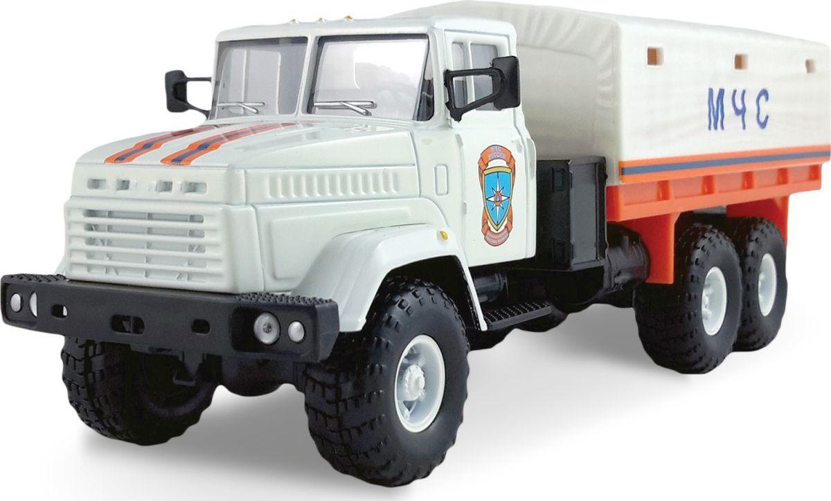 Autotime Модель автомобиля КрАЗ-6322 МЧС машина autotime imperial truck series 65137