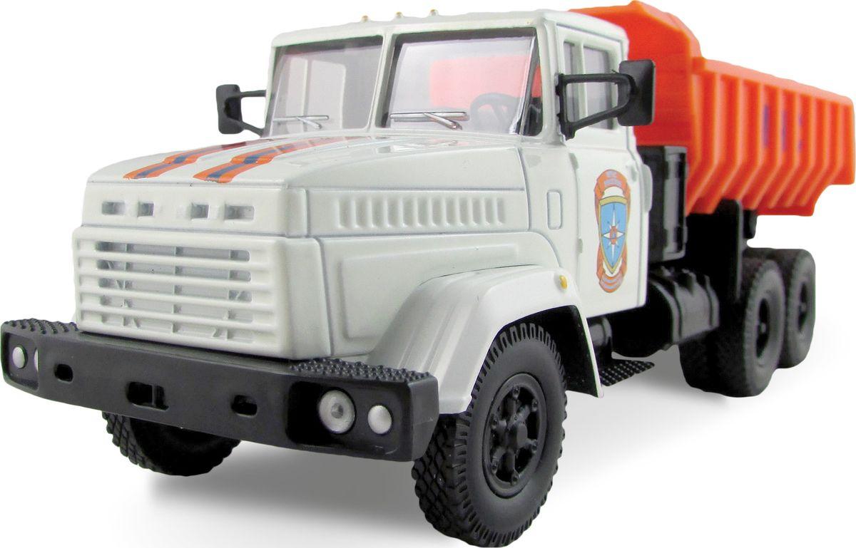 Autotime Модель автомобиля КрАЗ-6510 МЧС машина autotime imperial truck series 65137