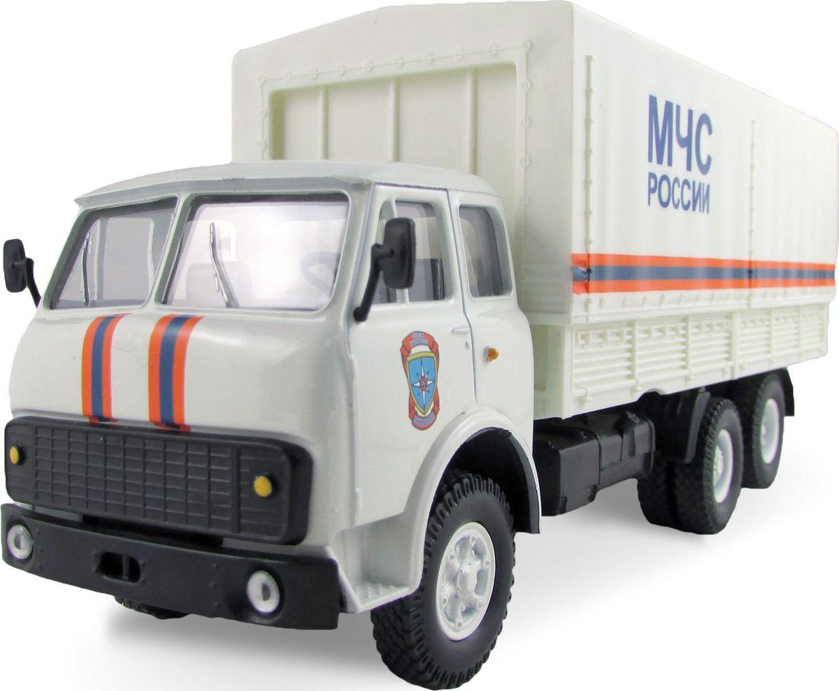 Autotime Модель автомобиля MAZ-516 МЧС России autotime набор машинок recovery truck long эвакуатор с прицепом