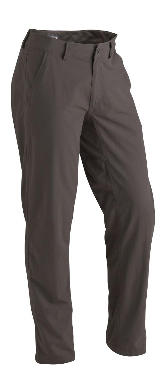 Брюки спортивные мужские Marmot Harrison Pant, цвет: темно-оливковый. 52350-4381. Размер M(48/50)52350-4381Брюки Harrison Pant сшиты из легкой техничной нейлоновой ткани с водоотталкивающей пропиткой. Классический вид и большой функционал - вот девиз этой модели! Износостойкая нейлоновая ткань, вставка ластовица для большей свободы движений, задний потайной карман на молнии, пояс с подкладкой из ткани DriClime®.